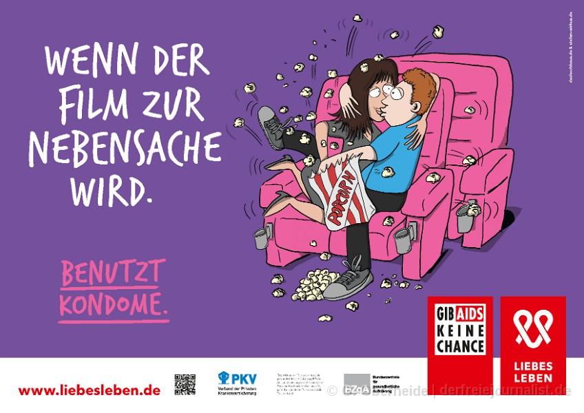 Die kreative Kampagne der BzgA für Safer Sex