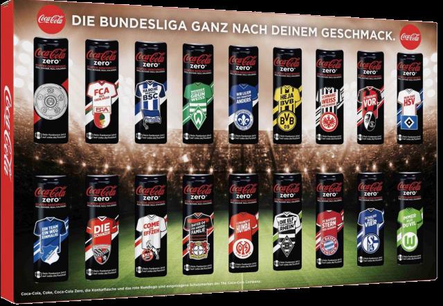 Coca-Cola Dosenkoffer Bundesliga 2016