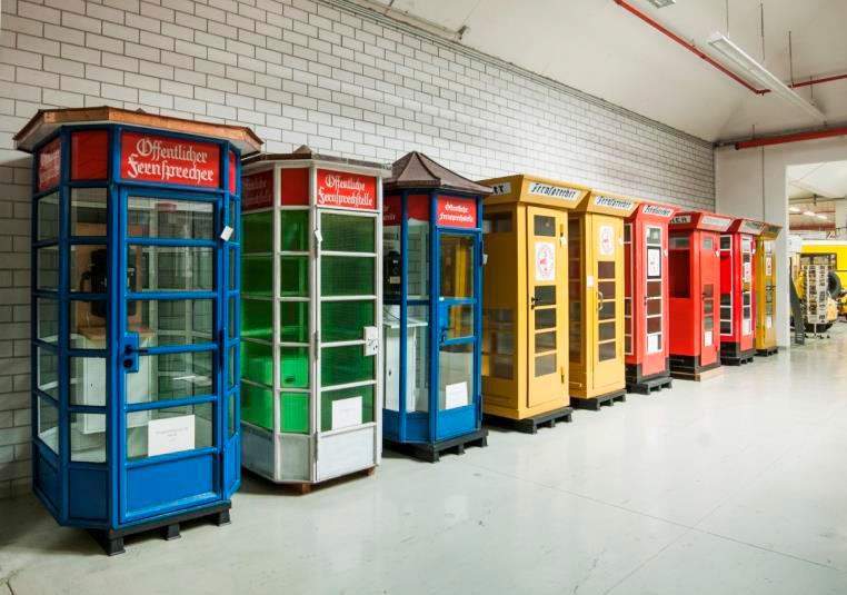 Retro Telefonzellen Depot Heusenstamm