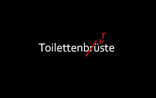 Toilettenbrüste Titel