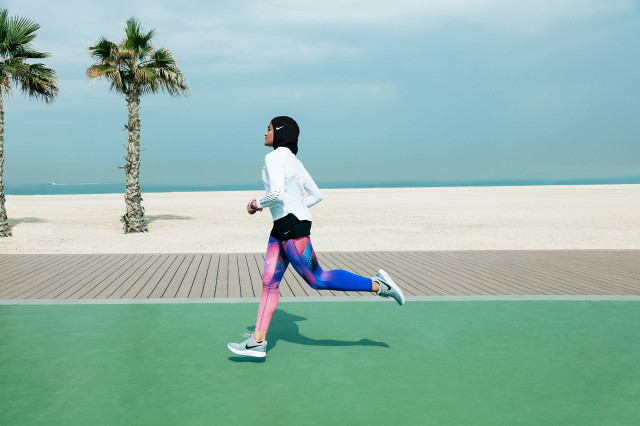 Nike Pro Hijab Joggerin