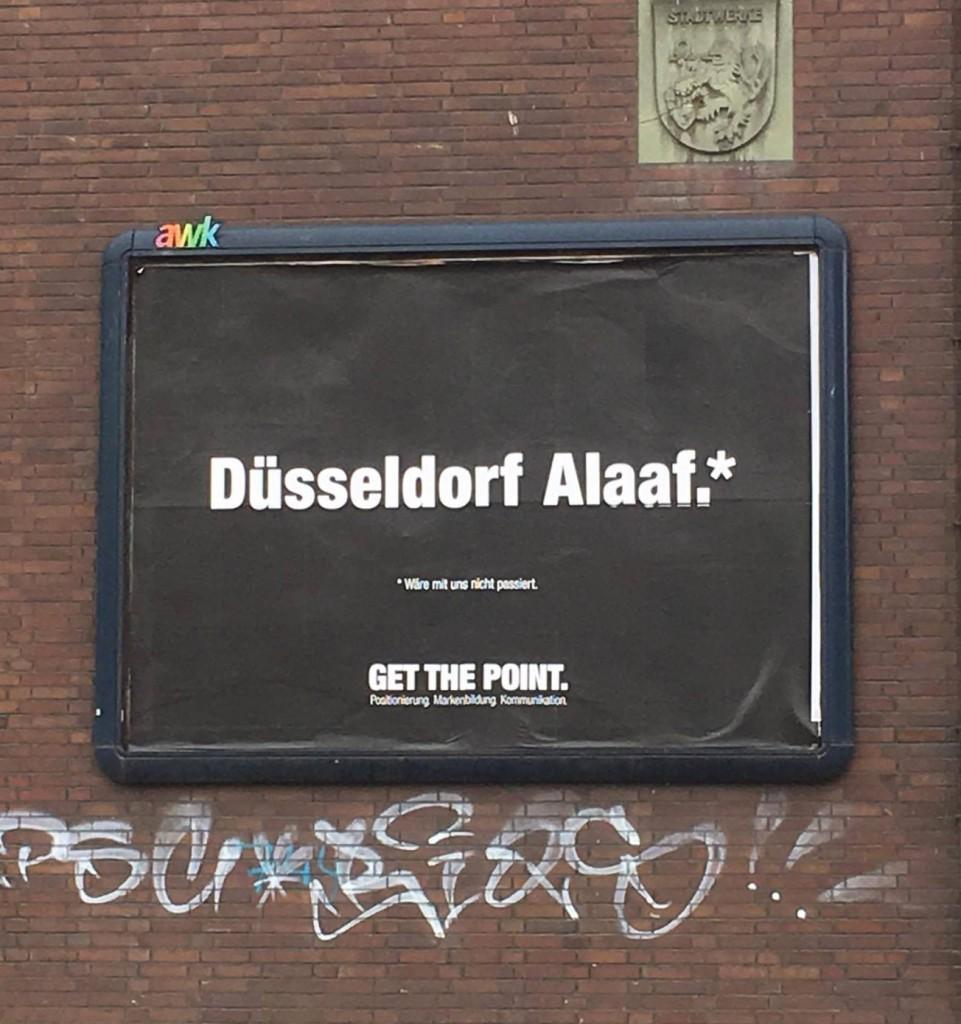 Get the Point Plakat: Düsseldorf Alaaf