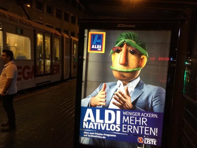 Bundestagswahl 2017 Aldi Kampagne