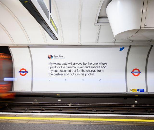 Foto der Dating Twitter Kampagne