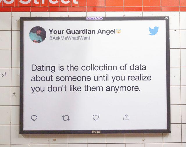 Motiv der Dating Twitter Kampagne