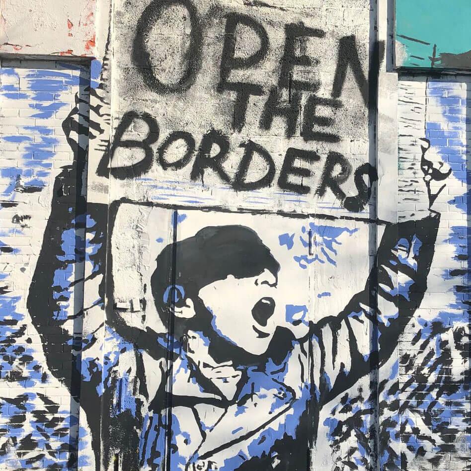 Motiv Open the Borders